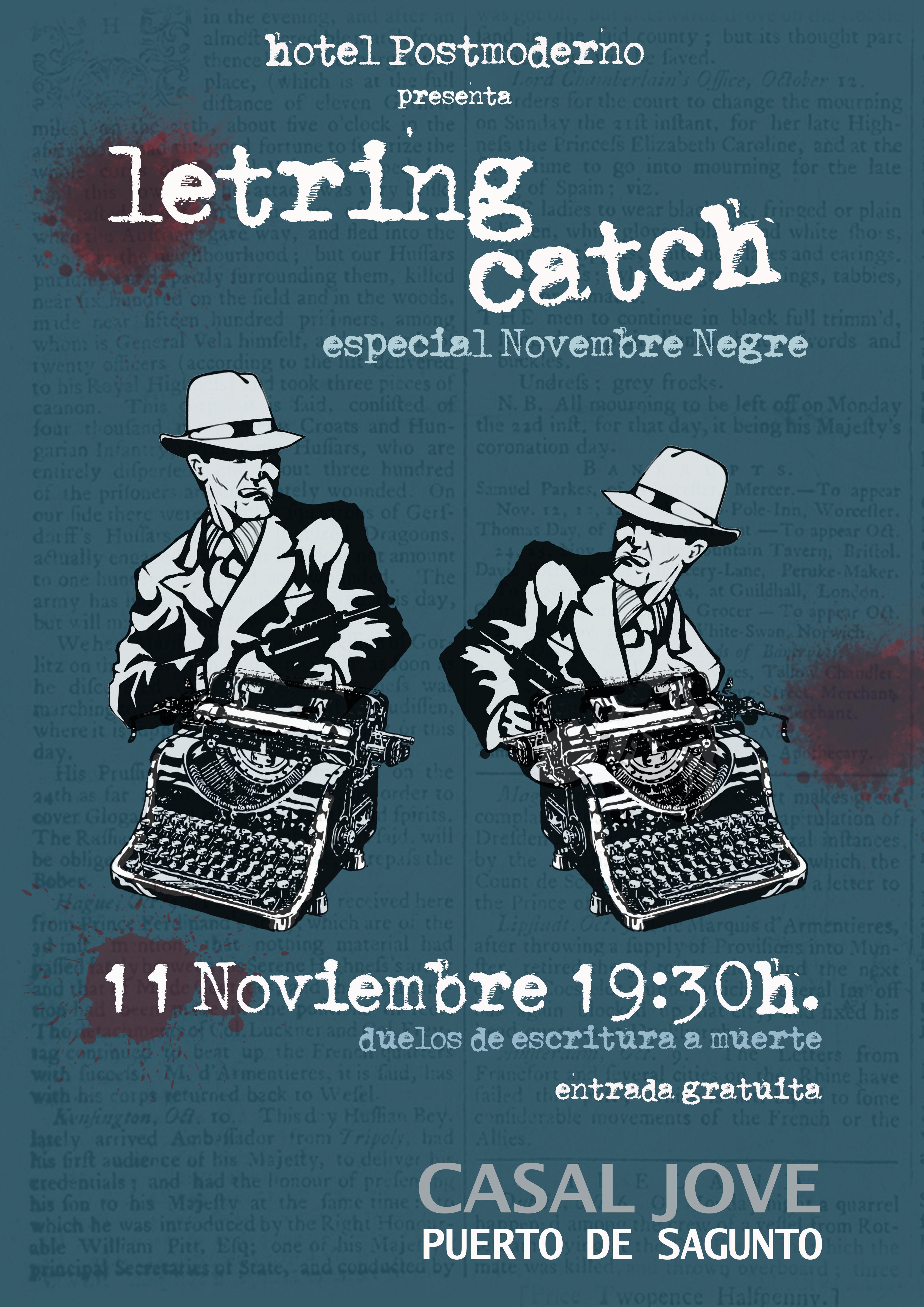 Literatura novembre negre - Casal jove puerto sagunto ...